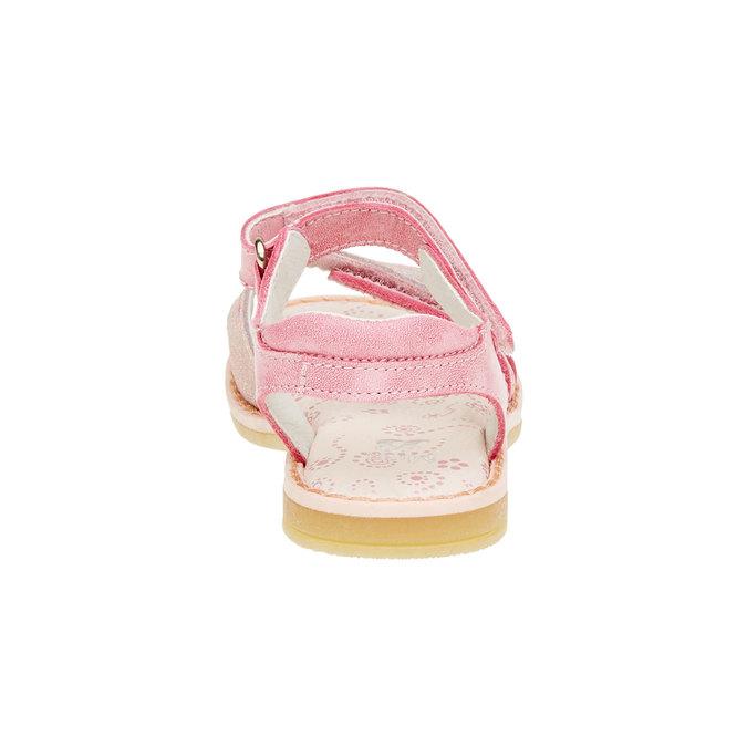 Dětské kožené sandály mini-b, růžová, 266-5310 - 17