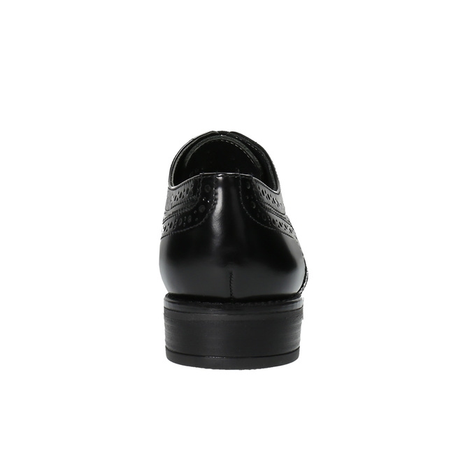 Dámské polobotky bata, černá, 524-6600 - 17
