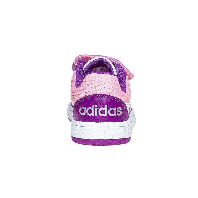 Dětské tenisky na suché zipy adidas, fialová, 301-1167 - 17