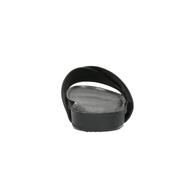 Kožené nazouváky vagabond, černá, 864-6008 - 17