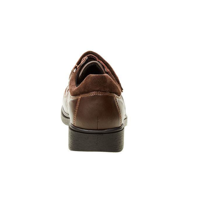Pánská zdravotní obuv medi, hnědá, 834-4106 - 17
