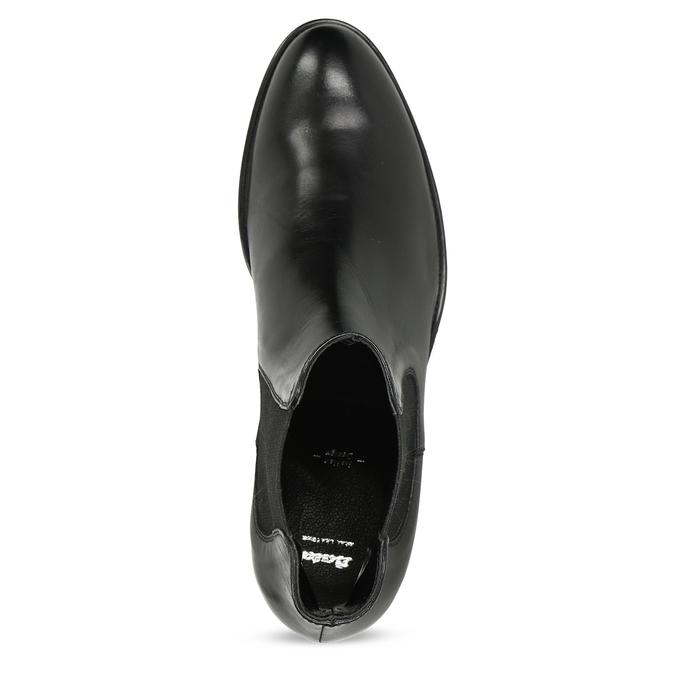 Kožená dámská Chelsea obuv bata, černá, 594-6448 - 17