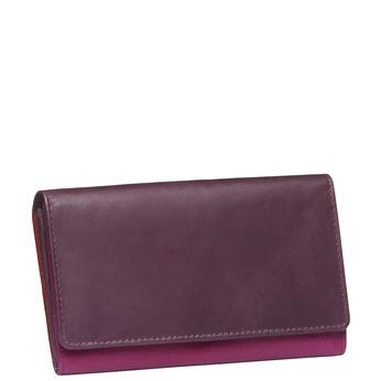 Dámská kožená peněženka bata, fialová, 944-5156 - 13