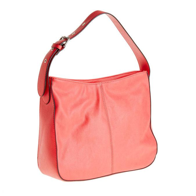 Červená kabelka s nastavitelným uchem bata, červená, 961-5792 - 13