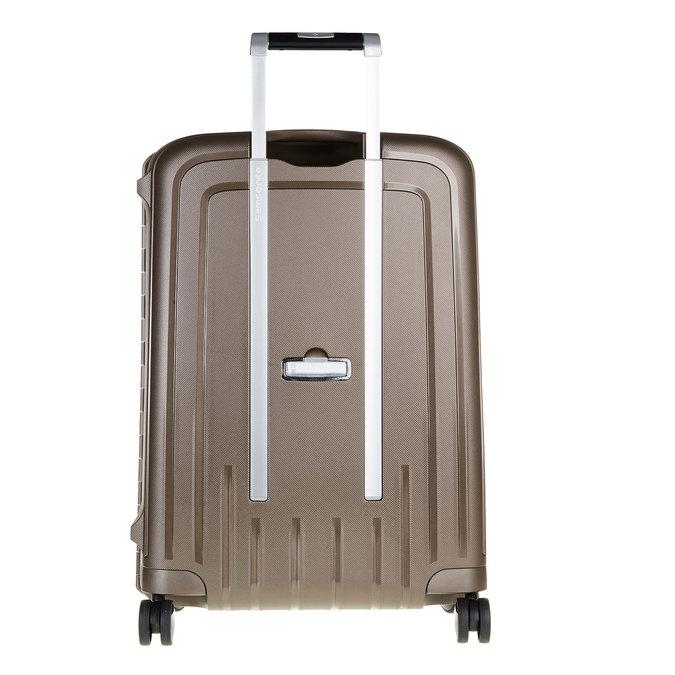 Kvalitní skořepinový kufr samsonite, hnědá, 960-4322 - 26