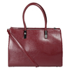 Červená kabelka s pevným dnem bata, červená, 961-5879 - 26