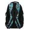 Dětský školní batoh bagmaster, modrá, zelená, 969-9602 - 26