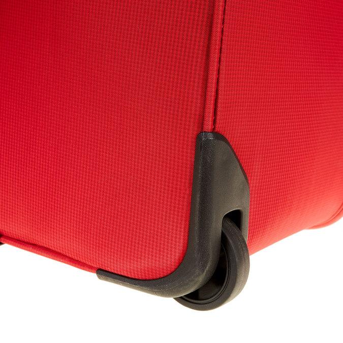 Kufr na kolečkách carlton, červená, 969-5147 - 19