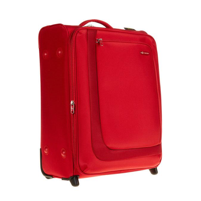 Kufr na kolečkách carlton, červená, 969-5146 - 13