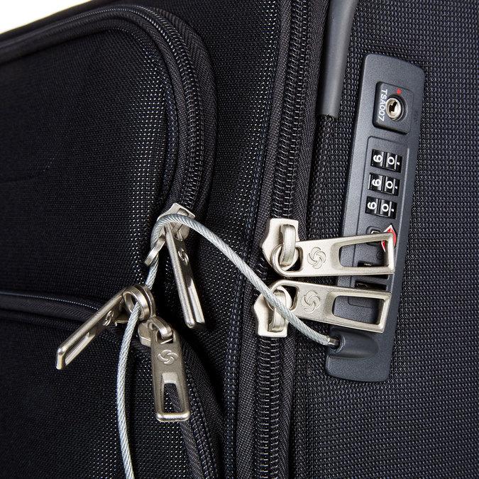 Cestovní kufr na kolečkách samsonite, černá, 969-6500 - 17