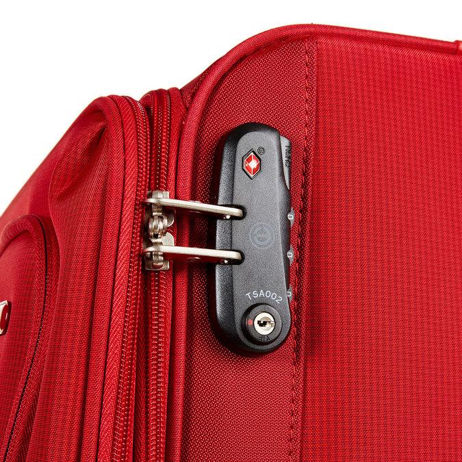 Kufr na kolečkách carlton, červená, 969-5146 - 17