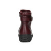Dámská kožená zimní obuv bata, červená, 596-5347 - 17
