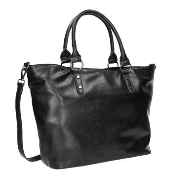 Černá dámská kabelka bata, černá, 961-6857 - 13