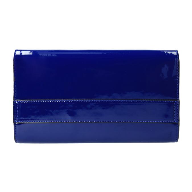 Modré dámské psaníčko bata, modrá, 961-9624 - 26
