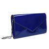 Modré dámské psaníčko bata, modrá, 961-9624 - 13