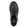 Dětská kotníčková obuv se střapcem mini-b, černá, 391-6266 - 19