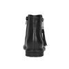 Dětská kotníčková obuv se střapcem mini-b, černá, 391-6266 - 17