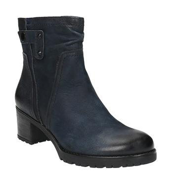 Dámská kotníčková obuv bata, modrá, 696-9603 - 13