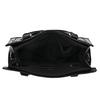 Černá kabelka se zlatými detaily bata, černá, 961-6610 - 15