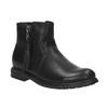 Dětská kotníčková obuv se střapcem mini-b, černá, 391-6266 - 13