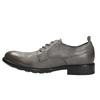 Pánské kožené polobotky v ležérním designu bata, šedá, 826-2732 - 26