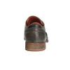 Kožené polobotky v ležérním stylu bata, šedá, 824-2620 - 17