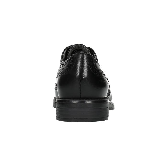Dámské polobotky v Derby stylu vagabond, černá, 524-6001 - 17