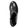 Dámská kožená kotníčková obuv bata, černá, 594-6611 - 26