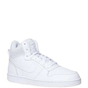 Bílé kotníčkové tenisky nike, bílá, 801-1332 - 13
