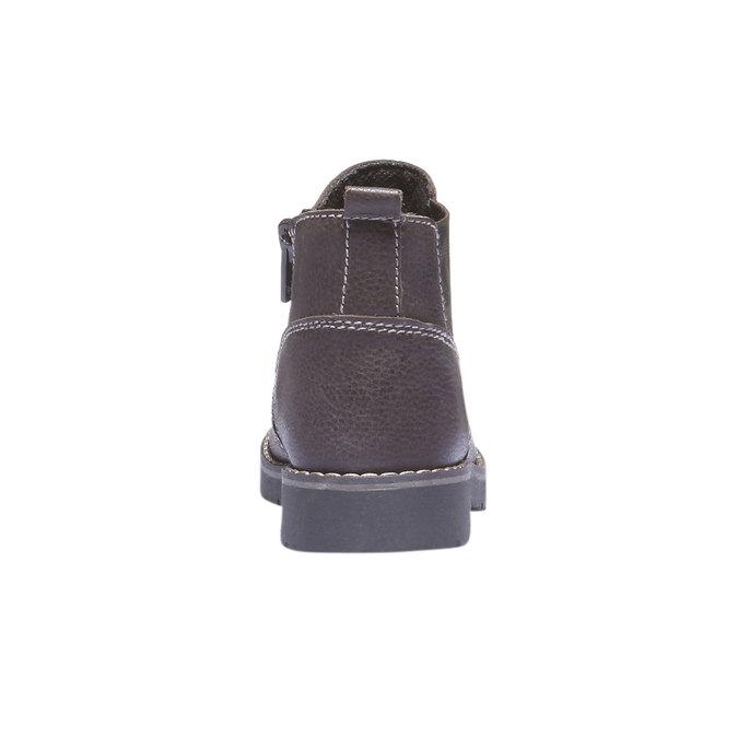 Dětské vysoké kožené boty mini-b, 2019-214-4137 - 17