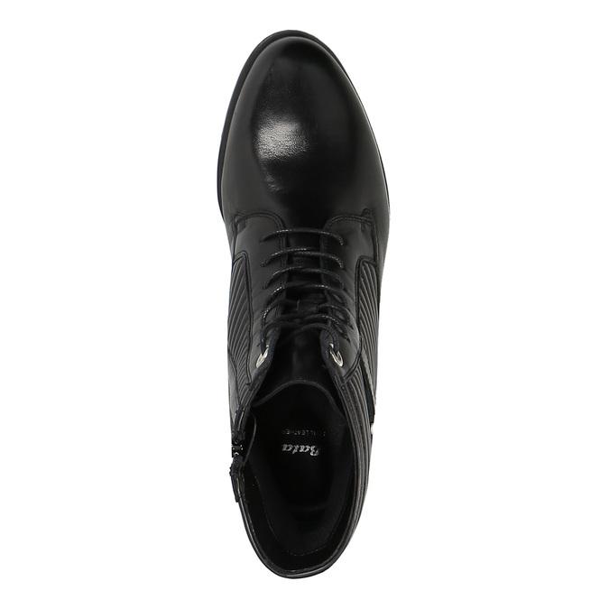 Dámská kotníčková obuv bata, černá, 594-6617 - 19