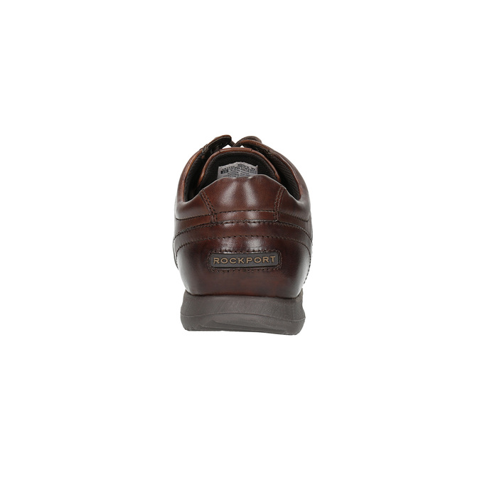 Ležérní kožené polobotky rockport, hnědá, 824-4038 - 17