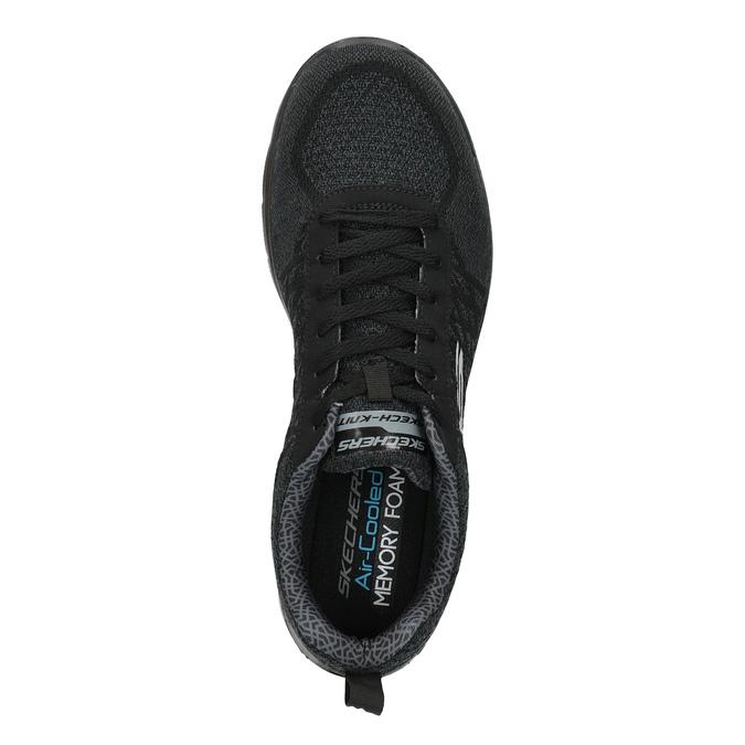 Pánské sportovní tenisky skechers, černá, 809-6350 - 19