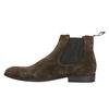 Chelsea Boots z broušené kůže vagabond, hnědá, 893-4028 - 26