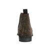 Chelsea Boots z broušené kůže vagabond, hnědá, 893-4028 - 17