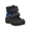 Dětská zimní obuv na suché zipy richter, černá, 129-6001 - 13