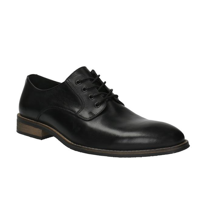 Ležérní kožené polobotky bata, černá, 824-6678 - 13