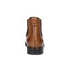 Dámské kožené Chelsea boots bata, hnědá, 594-3902 - 17