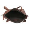 Hnědá kožená kabelka bata, hnědá, 964-3234 - 15