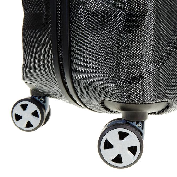 Černý cestovní kufr na kolečkách roncato, černá, 960-6600 - 19