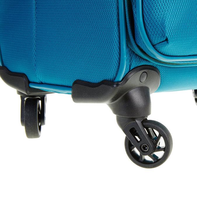 Modrý cestovní kufr roncato, tyrkysová, 969-7637 - 19