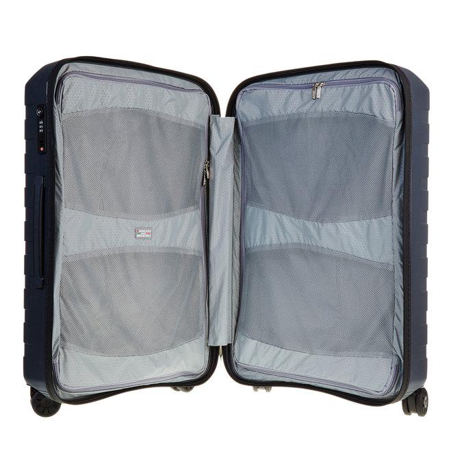 Skořepinový kufr na kolečkách roncato, modrá, 960-2604 - 15