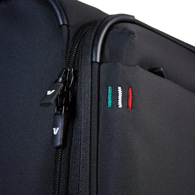 Cestovní kufr na kolečkách roncato, černá, 969-6633 - 17