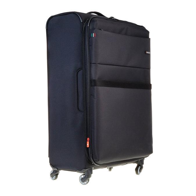 Černý kufrt na kolečkách roncato, černá, 969-6632 - 13