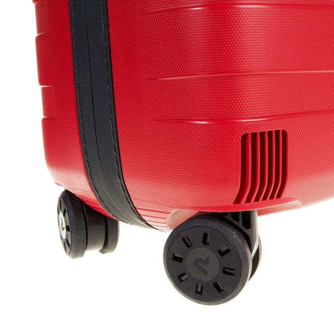 Cestovní kufr na kolečkách roncato, červená, 960-5604 - 19