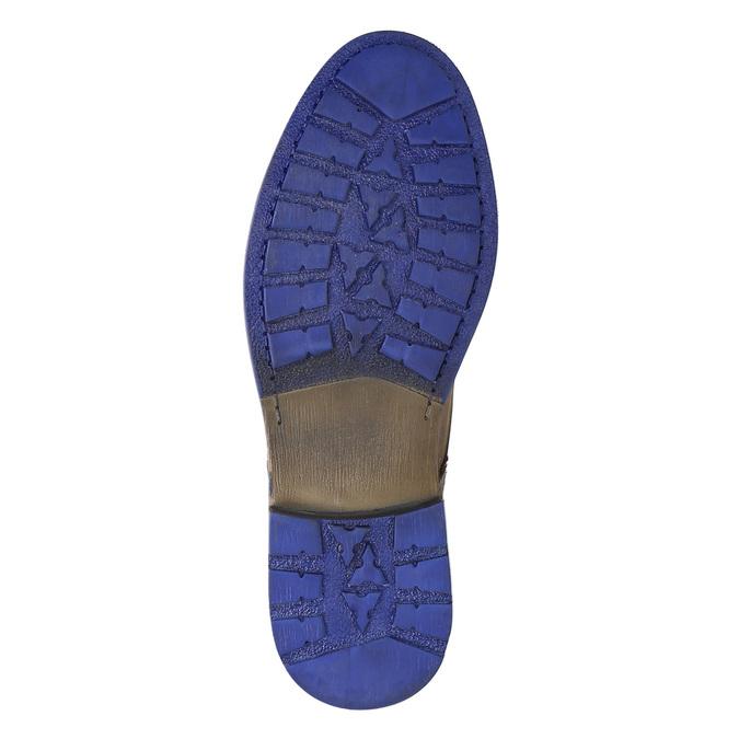 Kožená kotníčková obuv bata, hnědá, 896-4645 - 26