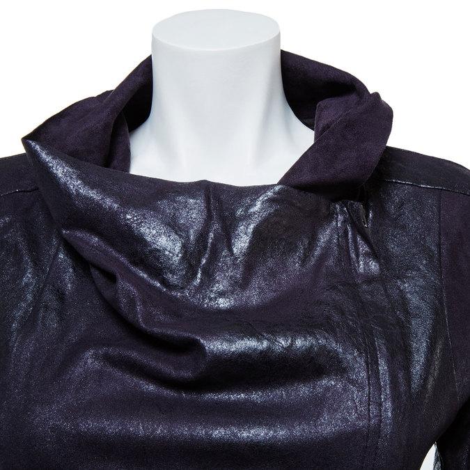 Dámské ležérní sako s límcem bata, černá, 979-6635 - 16