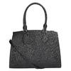 Černá dámská kabelka s pevnými uchy bata, černá, 961-6646 - 26
