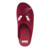 Dámská domácí obuv s výšivkou bata, červená, 579-5603 - 19
