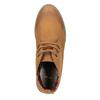 Dámská kotníčková obuv s barevnou podšívkou bata, hnědá, 599-4605 - 19